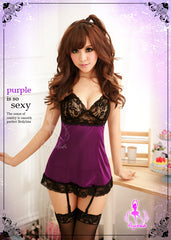 Sexy Love Fool 4 Pcs Babydoll Set