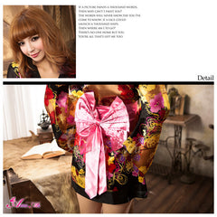 Lingeriecats Sexy Luxury Japanese Kimono Outfit Cosplay Costume Set