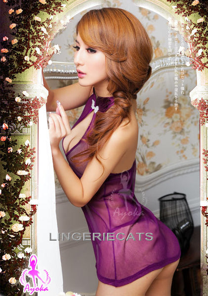 Asian Lingerie, Japanese Lingerie, Sexy Costumes, Chinese Cheongsam, Sexy Chinese Dress side