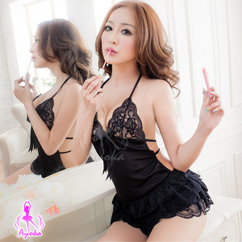 Lingeriecats Sexy Hot Sheer Chemise Set