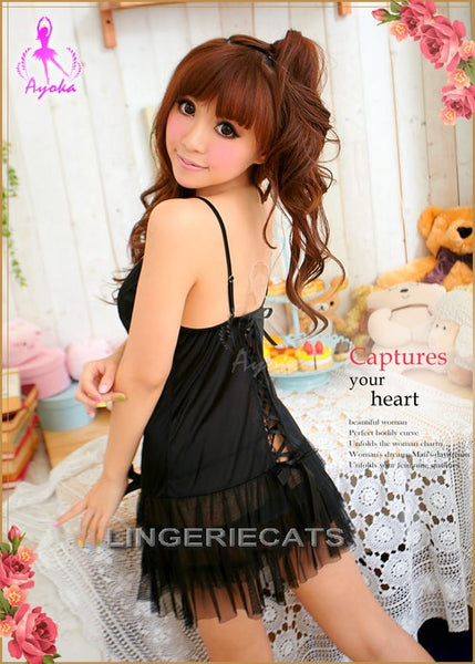 Dancing Queen Babydoll, Asian Lingerie, Japanese Lingerie, Sexy Babydoll Dress, Lingeriecats