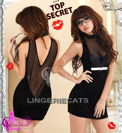 Stylish Secretary Costume - LingerieCats