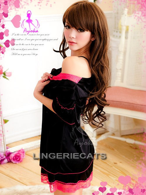 Hot Lace Wrap - LingerieCats