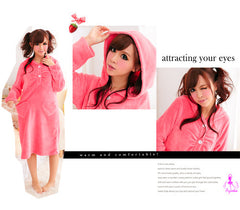 Lovely Hooded Pajama Dress - LingerieCats