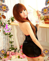 Vintage China Doll 2 Pcs Cheongsam Costume - LingerieCats