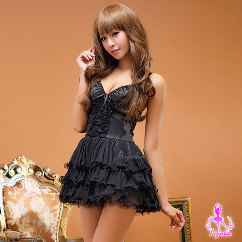 Lingeriecats Sexy Fascinating Halter-neck Chemise - LingerieCats