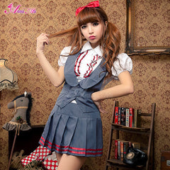 Lingeriecats Sexy Elite schools Royal School Girl Costume Set - LingerieCats
