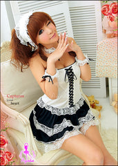 Fantasy 6Pcs Maid Costume