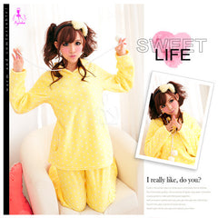 Yellow Duck Pajama - LingerieCats