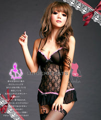 Sexy Lingerie Bewitching Corset Set , Asian Lingerie, Japanese Lingerie, Sexy Costumes, Wild Sexy Lingerie, Clubwear