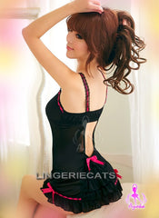 Sexy Paper Doll Babydoll, Sexy Lingerie, Asian Lingerie, Japanese Lingerie, Babydoll Slip, Sexy Shop, Lingeriecats