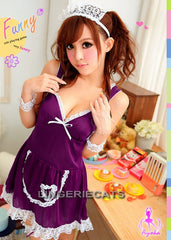 Maid Temptation 7 Pcs Costume - LingerieCats