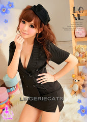 Secretarial Fantasy 3 Pcs Costume