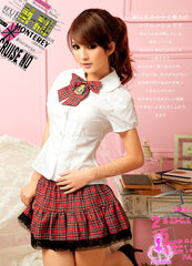 Back to Youth! 2 Pcs Student Costume - LingerieCats