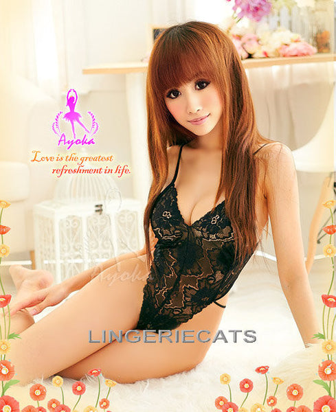 Arousing Sheer Teddy - LingerieCats