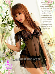 Wooing Darling Babydoll, Sexy Babydoll Slip, Asian Lingerie, Japanese Lingerie, Halloween Costumes, Lingerie online shop, Lingeriecats