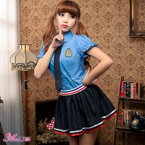 Lingeriecats Sexy Naughty School sweetie Uniform Cosplay Costume Set - LingerieCats
