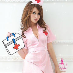 Sexy Tempting Nurse Costume Outfit - LingerieCats