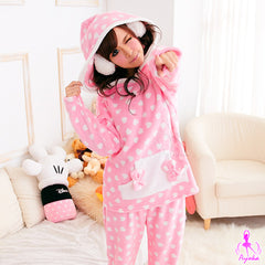 Pink Cotton Candy Pajama - LingerieCats