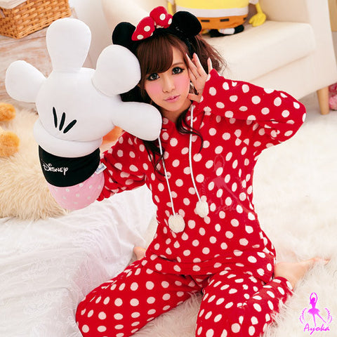 Red Minnie Pajama