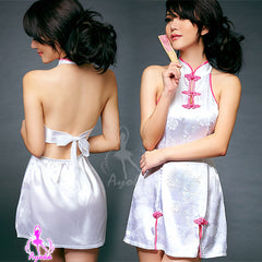 Sexy Hot White Backless Clubwear Short Dress - LingerieCats