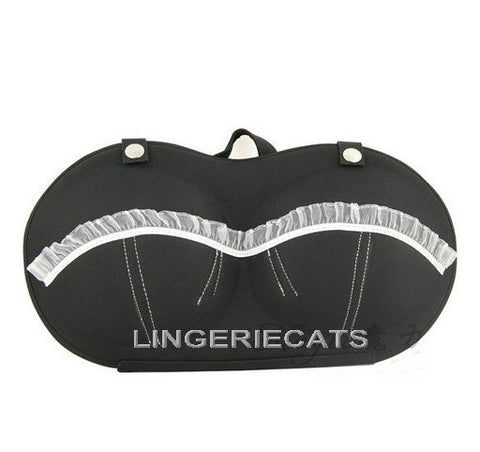 Cute Black Bra Travel Bag - LingerieCats