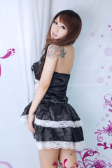 Sexy Lolita Princess Clubwear Costume Black Dress