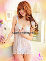 Baby Tears Babydoll - LingerieCats