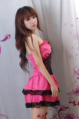 Sexy Lolita Princess Clubwear Costume Red Dress