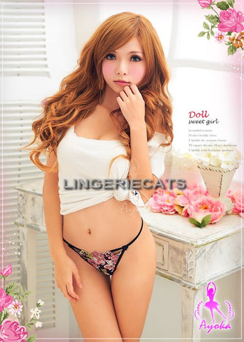 Adorable Mate 3 Pcs G-string Set