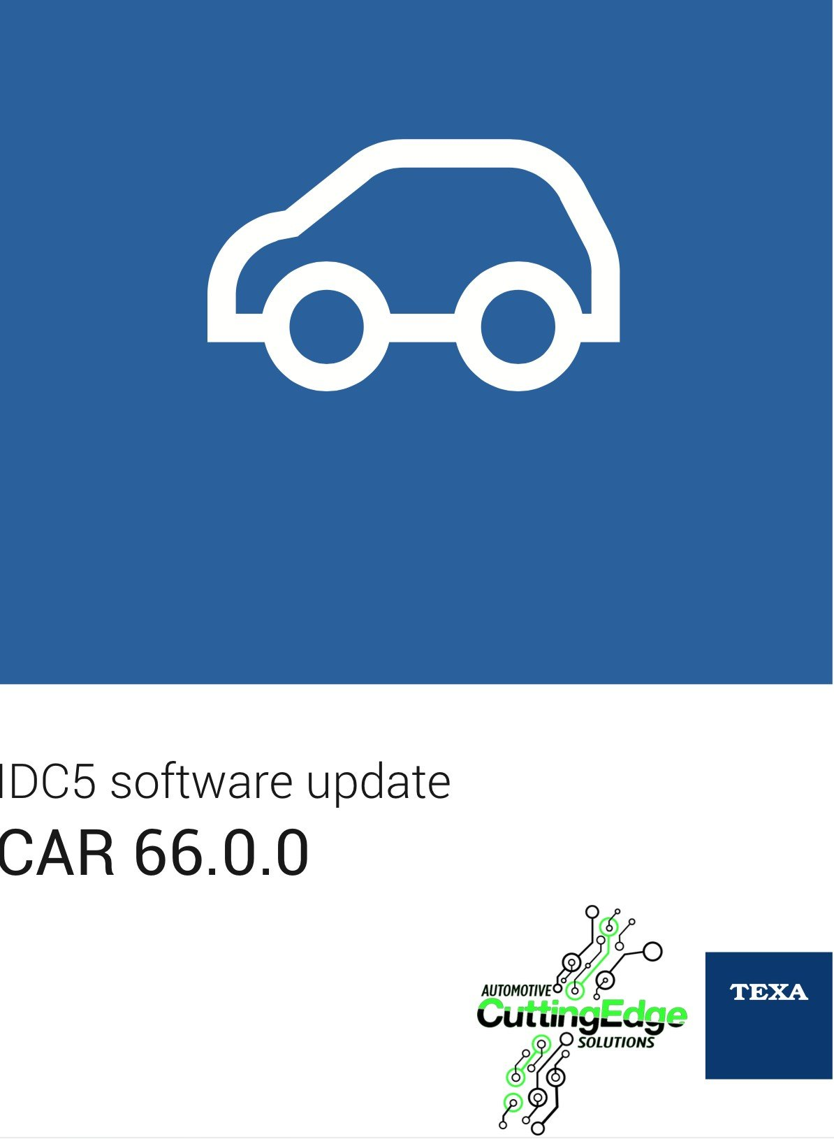 Diagnostic Update CAR IDC5 - 66.0.0