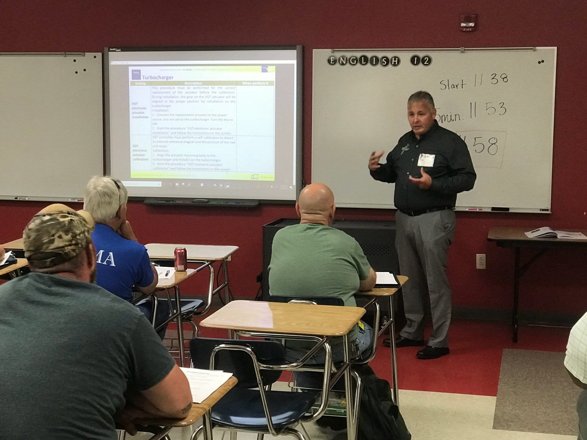 2018 TEXA Training with Lee Locklear