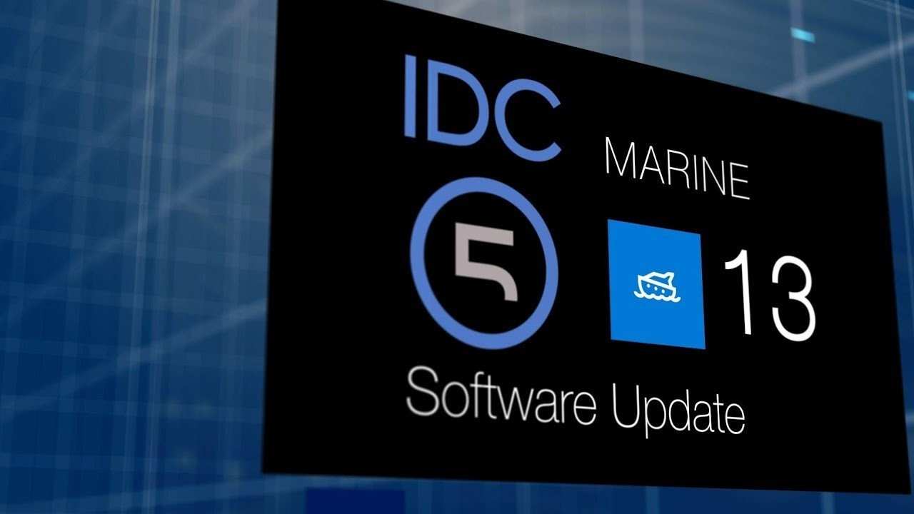 MARINE IDC5 Software Update 13.0.0