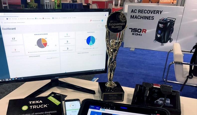 AAPEX Show Awards TEXA the PTEN Innovation Award
