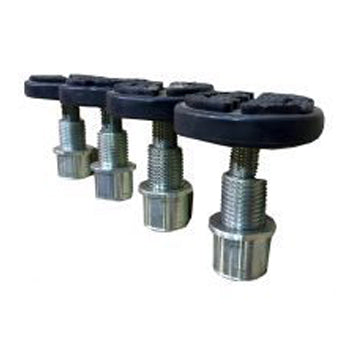 Drop in screw adjustment style lifting pads