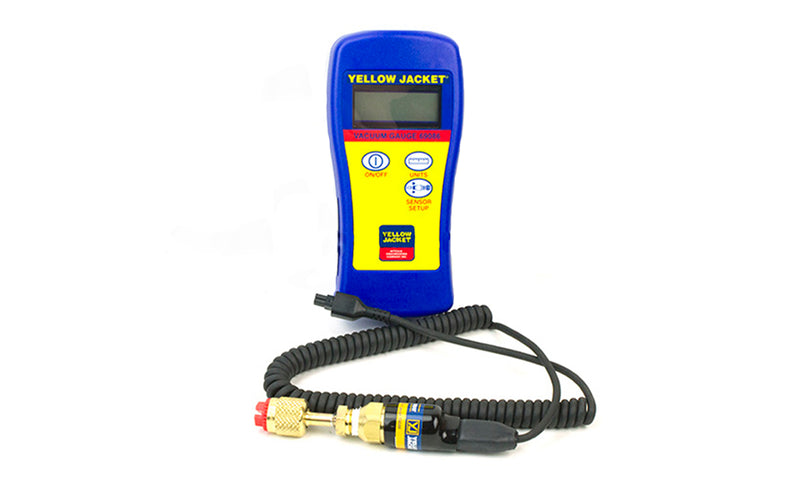 Yellow Jacket 69086 | Hand-Held Digital Vacuum Gauge with Fabric Carry Pouch