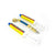 Yellow Jacket 69702 | Two Universal AC Dye Injectors and Hose for AC/R