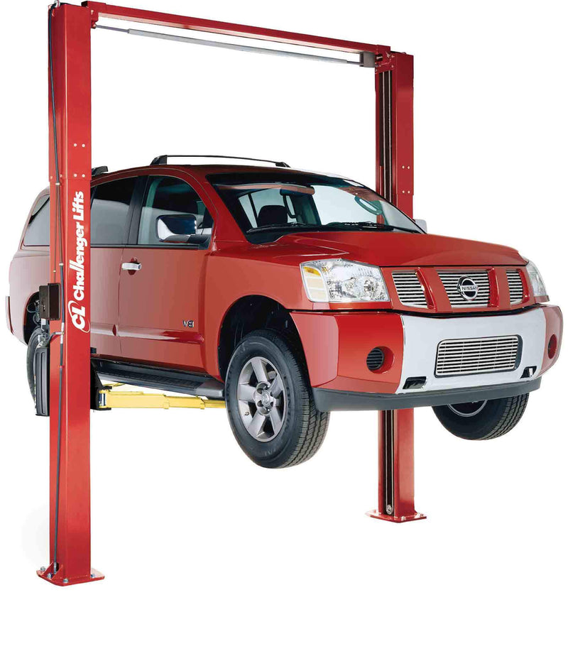 LE10-Challenger-2-Post-10000-lb-Economy-Lift-Rack