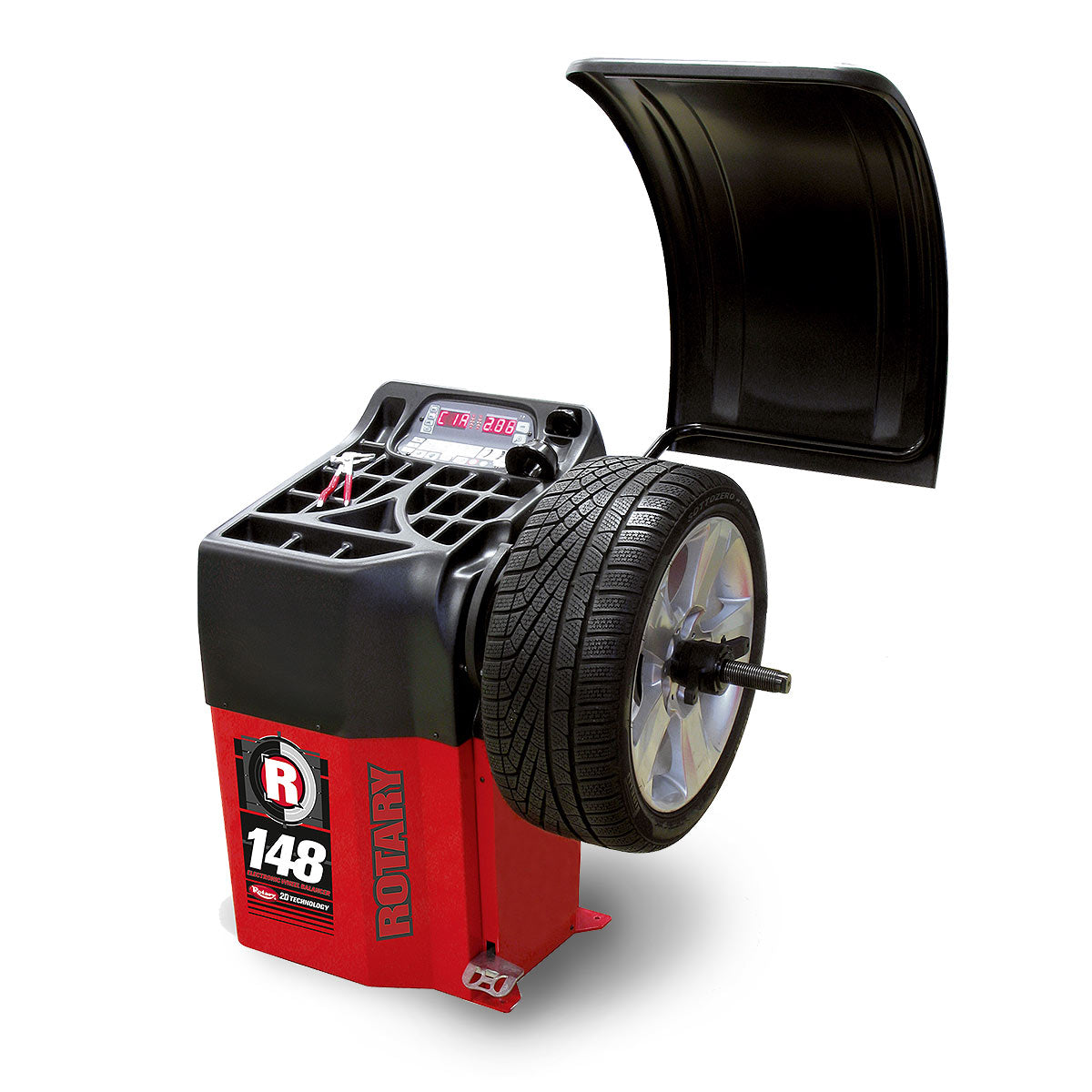 R148 Pro Shop 2D Wheel Balancer