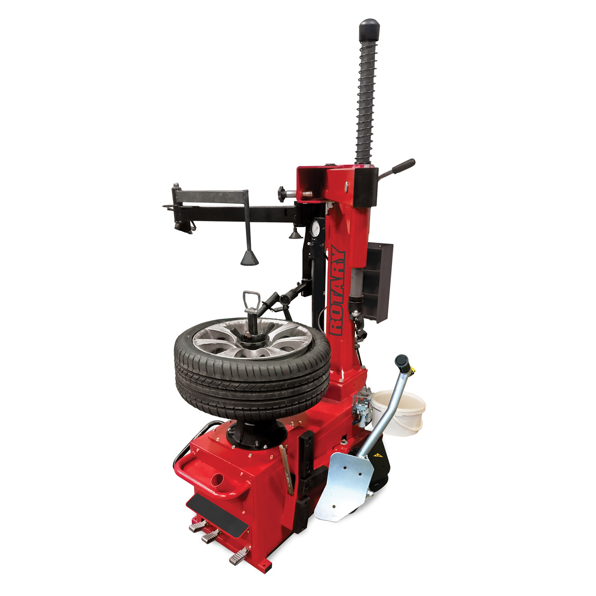 R247D Swingarm Center Lock Tire Changer