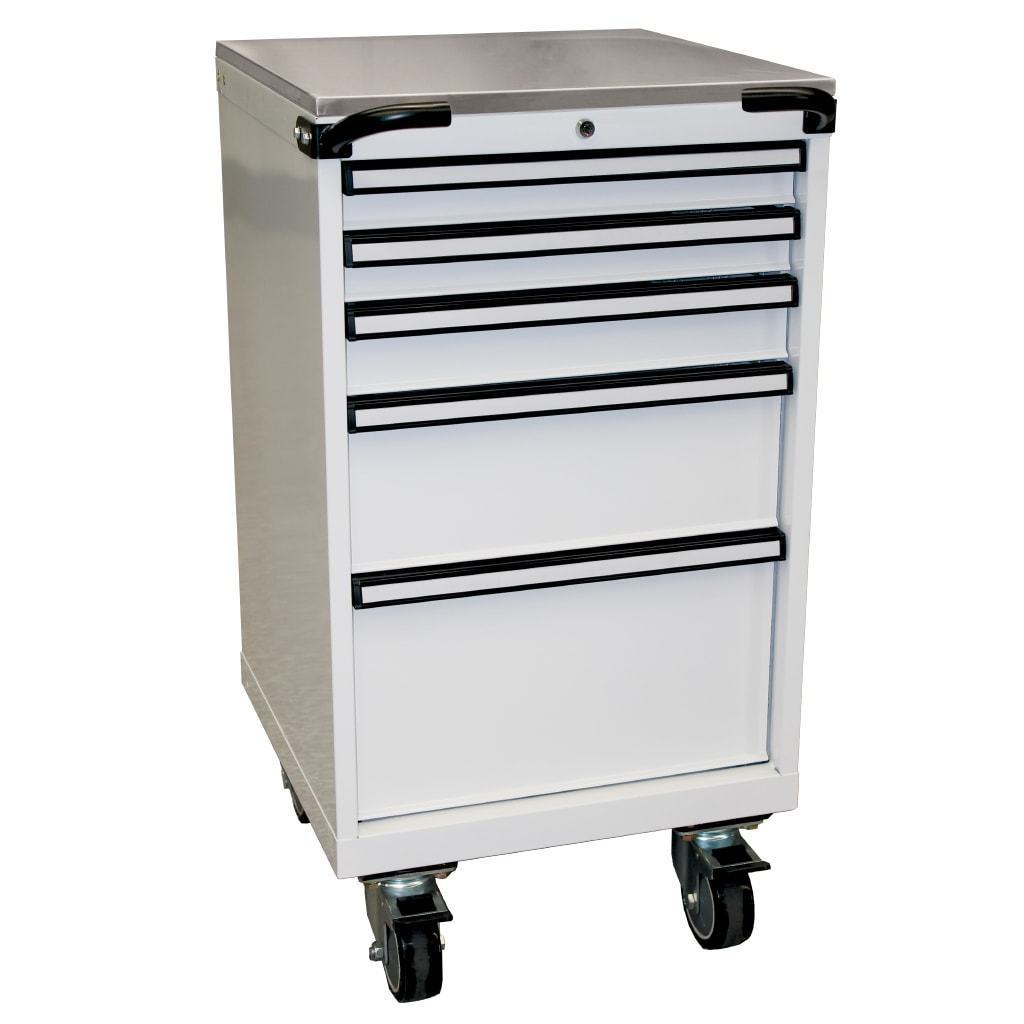 storage-roller-cabinet-stainless-steel-work-top-5-drawer-567mm