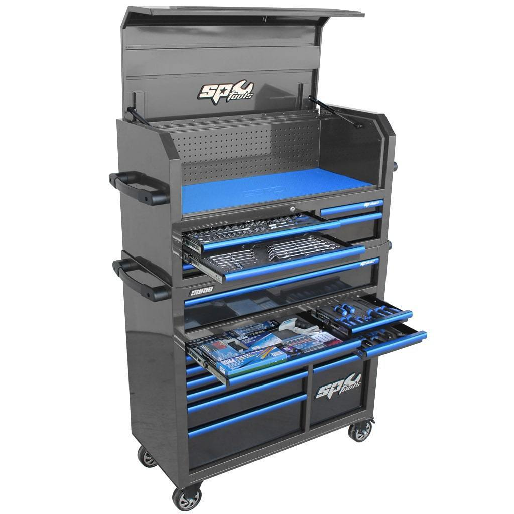 sumo-series-power-hutch-tool-kit-276pc-metric-sae-diamond-black-blue-handles