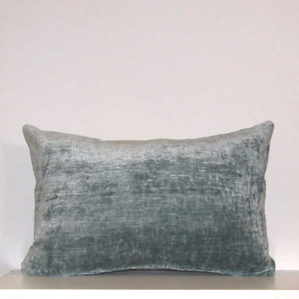 Made to order Powder blue luxury Italian velvet cushion cover
