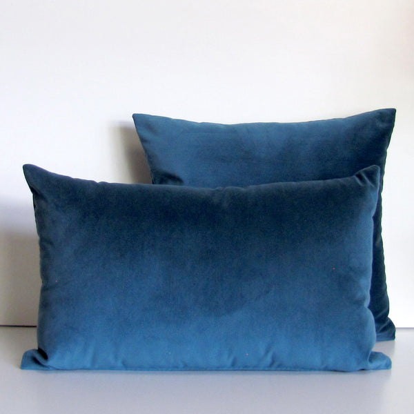 Made to order mallard velvet cushion cover