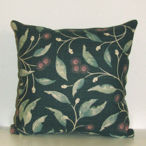 Hepburn cushion cover, teal