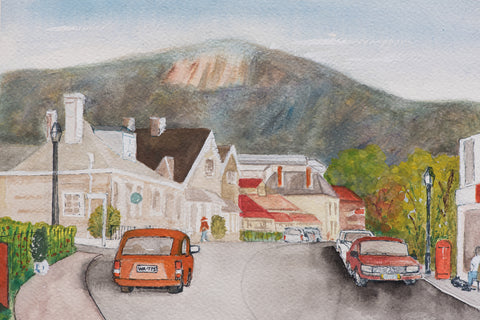Organ Pipes from Hampden Rd greeting card