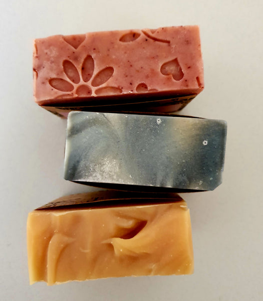orange & patchouli natural soap