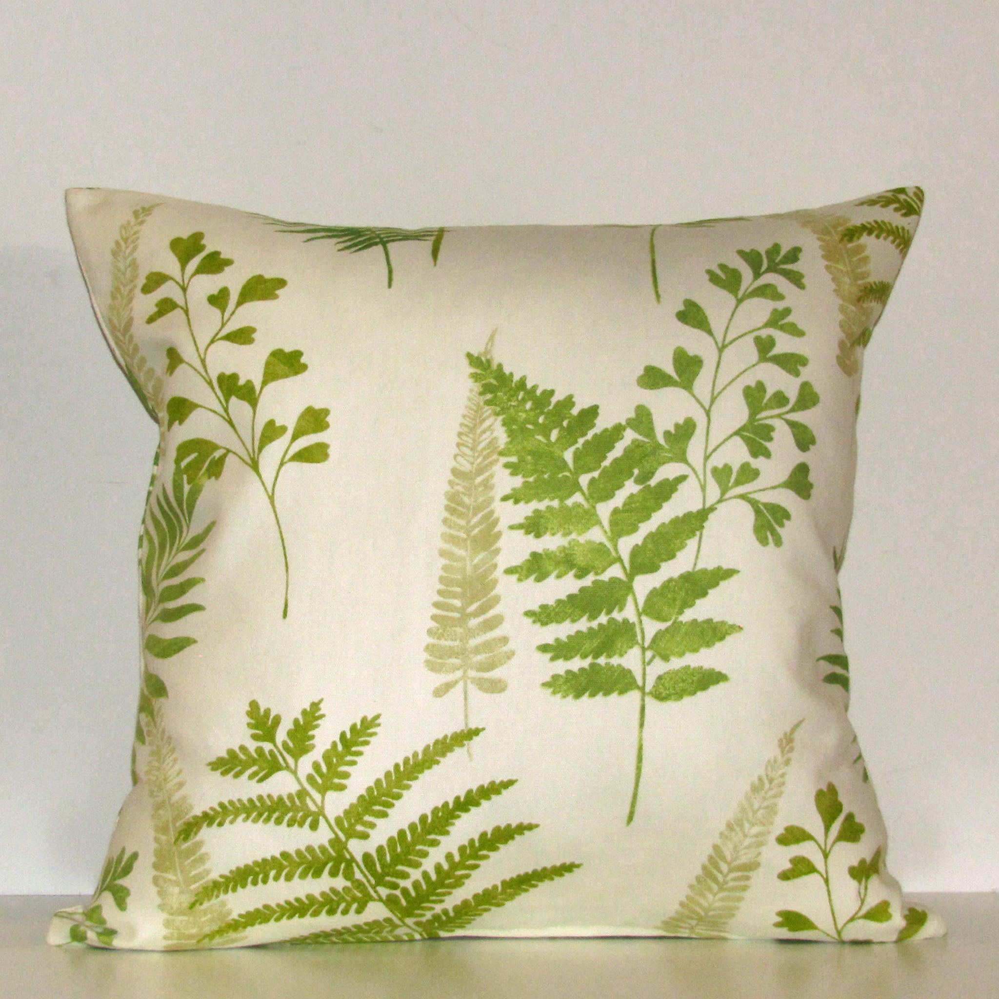 Frond cushion cover