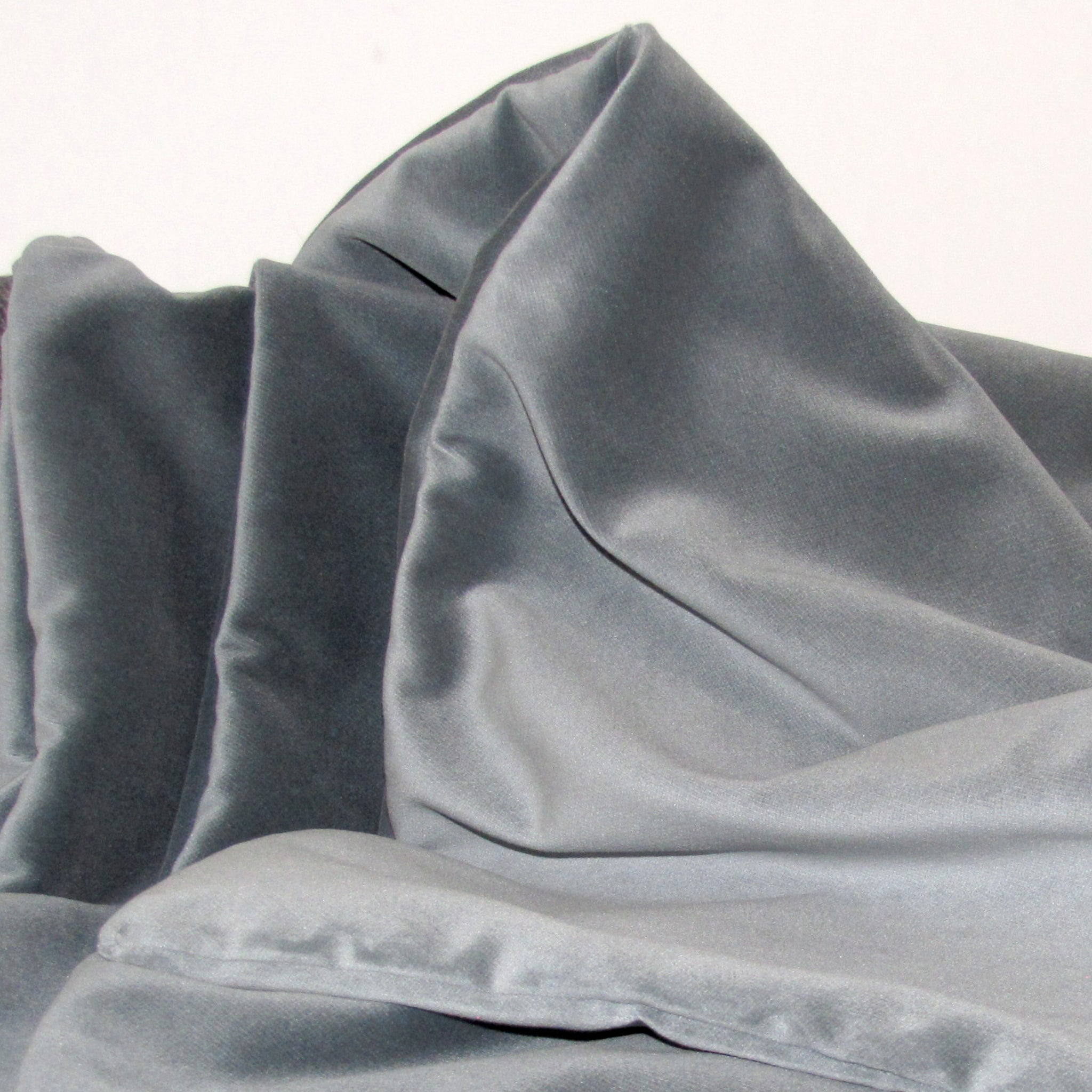 Eucalyptus grey velvet cushion cover