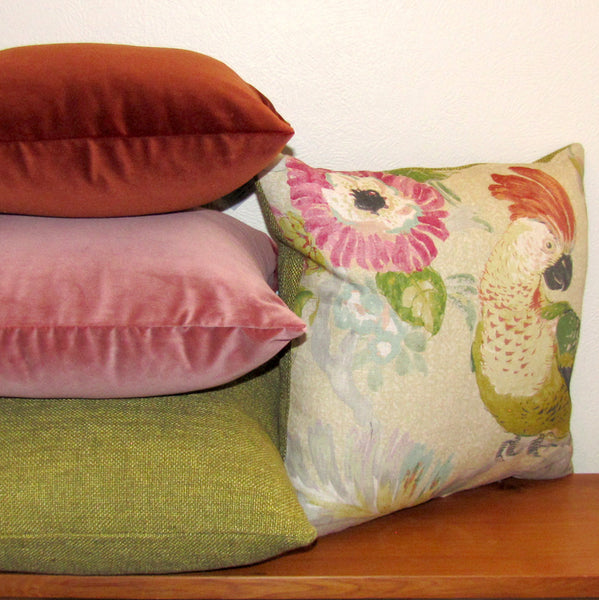 Bristol Pickle linen cushion cover